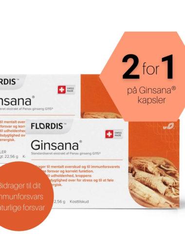 Ginsana G115® kapsler – 2 x 60 kapsler