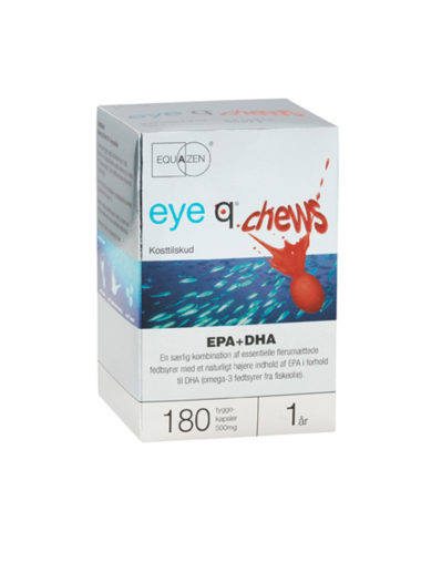 eye q Chews 180 kapsler