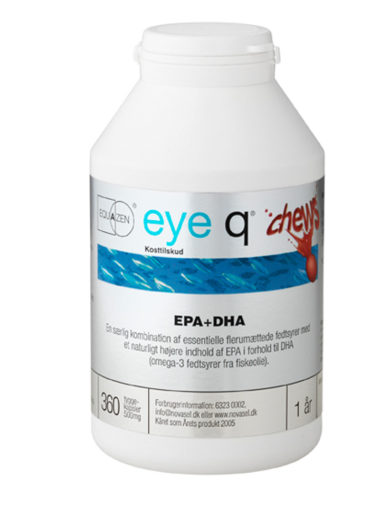 eye q Chews 360 Kapsler