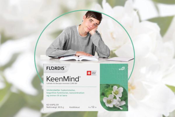KeenMind® Standardiseret udtræk fra Bacopa monnieri CDRI 08®